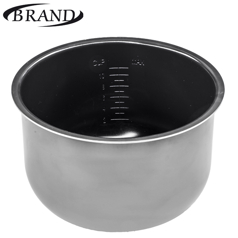 Inner pot 6051 bowl pan for multivarka, ceramic coating, 5L, measure scale, multicooker set brand9100 brand502 juicer multivarka electric digital 5l slow speed fruits vegetable citrus orange slowly extractor