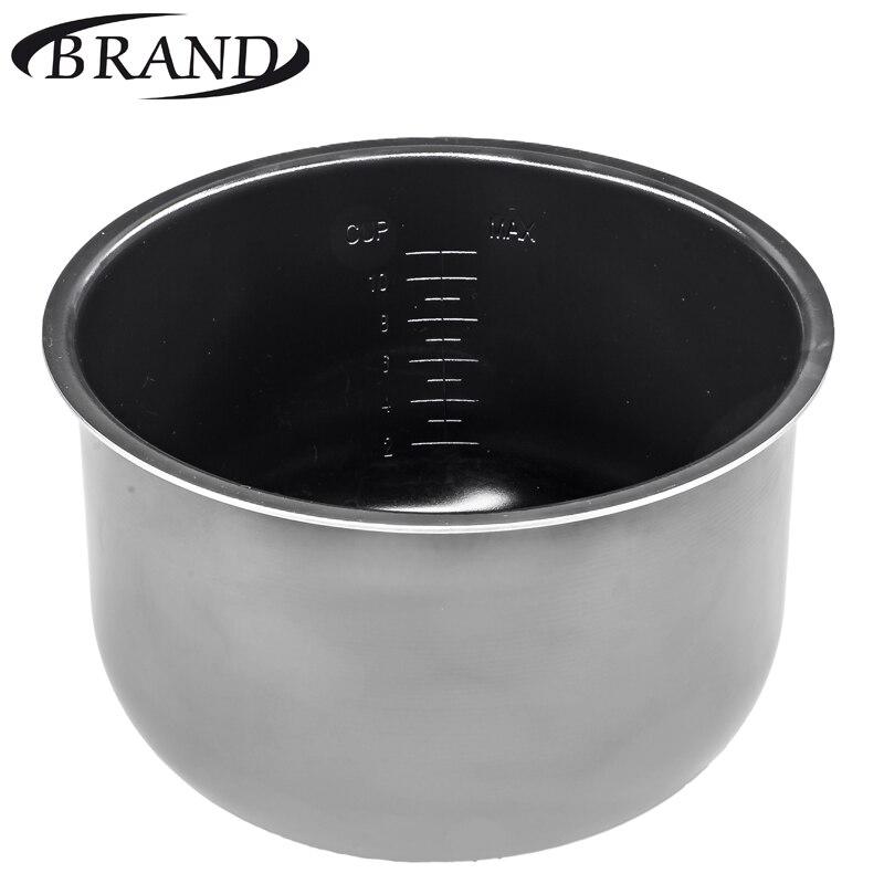 O recipiente interno 6051 tigela pan para multivarka, revestimento cerâmico, 5L, escala de medida, multicooker