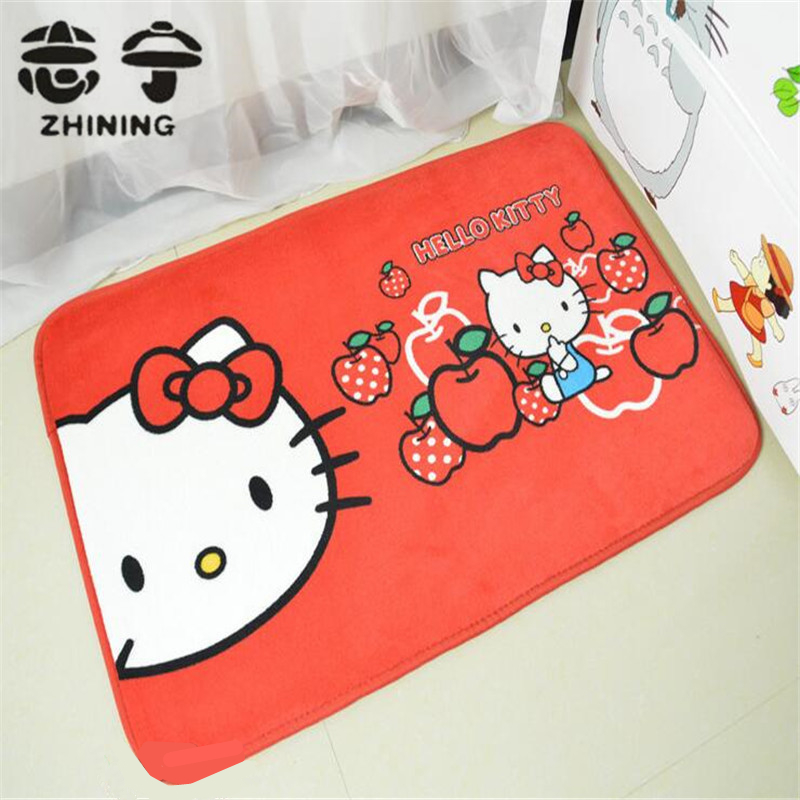 1 PC Cute Cartoon Carpet For Living Room Hot Sale High Quality Home Floor  Mat Hello Part 91