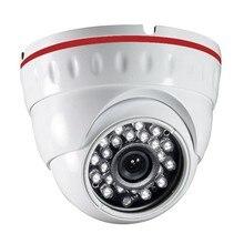 Safety CMOS 1080P 2.0MP SDI  24IR LED CCTV Surveillance System with Steel Casing three.6mm Lens