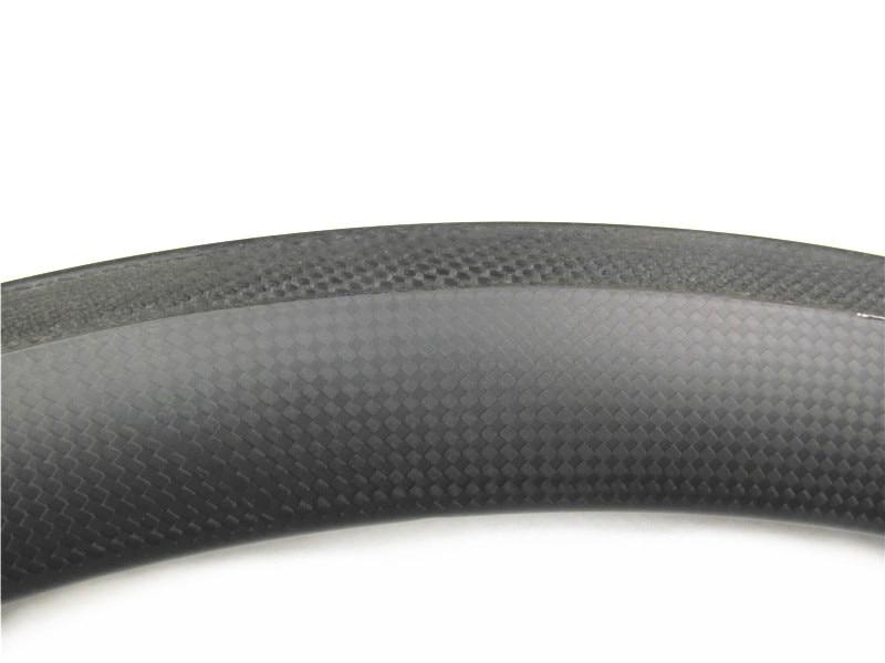 Jantes en carbone à bas prix, jantes de route en carbone Farsports 700C FSL44 TM surface de freinage en basalte de largeur 20.5mm, 320 g/pc +/ 15g - 5
