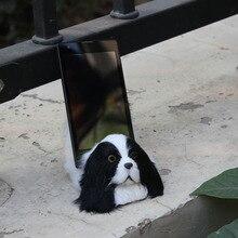 animal cute simualtion dog for decoration phone