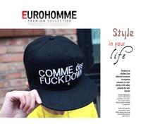 солнце шляпа Comme де черный хип-хоп кепка бейсбол кепка 5 шт. / много