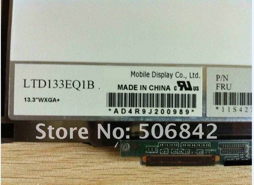 LTD133EQ1B для IBM X300 X301 WXGA+ ЖК дисплей Панель FRU 42T0476 1440*900