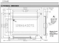 бесплатная доставка 2 шт./лот lcm12864r 128х64 точек графический желтый зеленый цвет подсветки модуль жк-дисплей st7920 контроллер новый