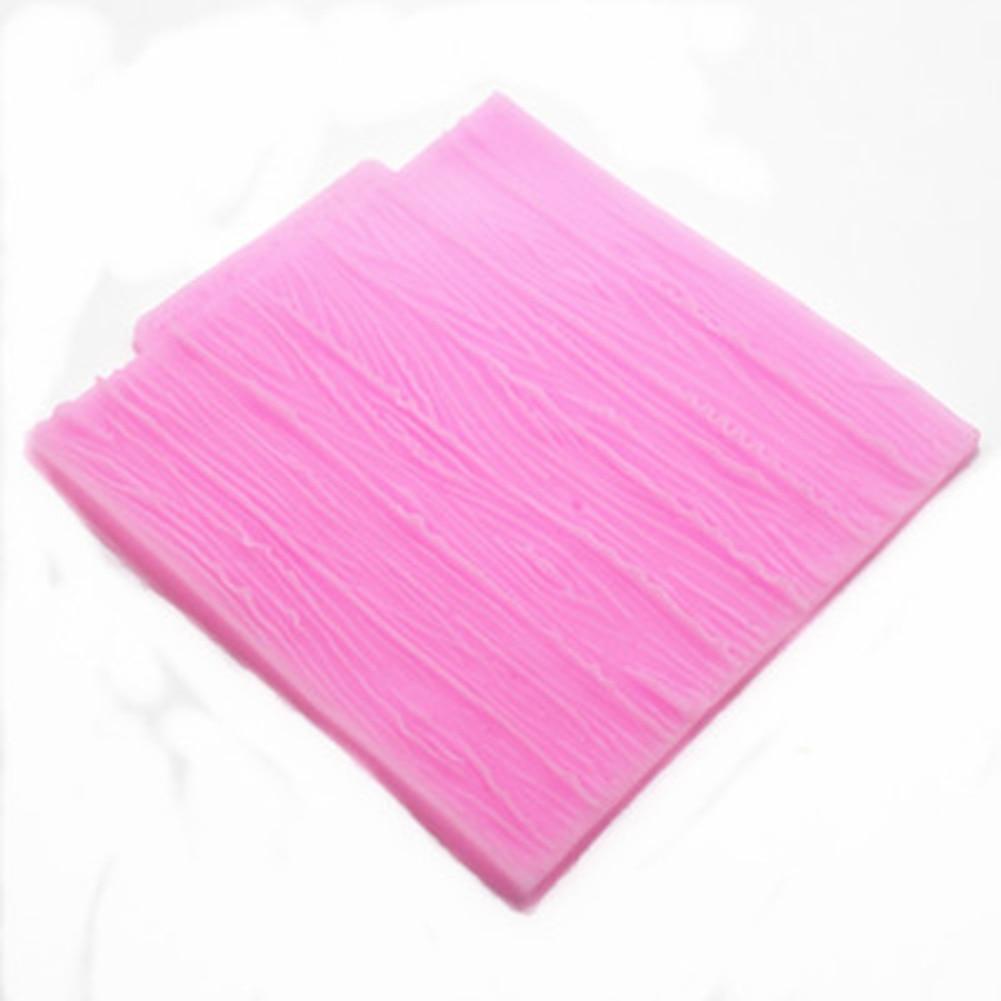 Corteza de encaje patrón de textura forma de silicona para decoración de pastele
