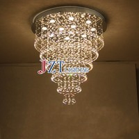 M Best Price 2016 New cristal lamp Hot selling genuine stainless steel k9 crystal ceiling lights for living room