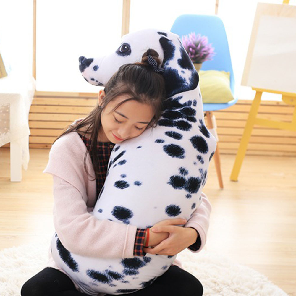 1 PC 3D Animal Cat Dog Shape Throw Pillow Cotton Plush Soft Office Cushion Gift Cute Sofa Home Decor