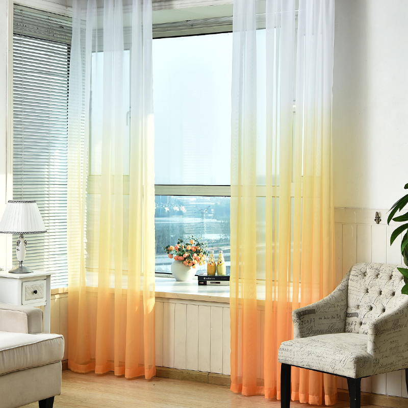 living room divider curtain מוצר tulle curtains 3d printed kitchen decorations 15284