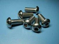 нержавеющая сталь iso7380 пуговица головка шестигранник гнездо кепка М5 * 16 мм, 100 шт