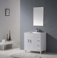 мебель для ванной комнаты оптовая продажа / новый стиль деревянные ванной комнаты / массива дерева шкафчиком