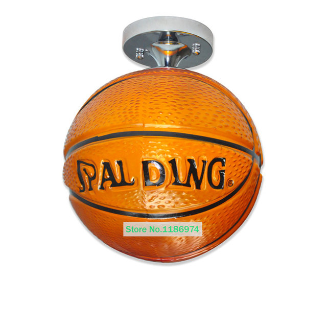 Porch Brown Basketball Lamp Glass Ceiling Lamps Modern Basketball Ceiling  Lamp Children Room Kidu0027s Room Hanging Lights Fixtures