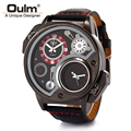 2016 Men Watch HP3578 Brand Oulm Quartz Watch Wristwatch Watch For Women Mens Watches Top Brand Luxury Fast Shipping