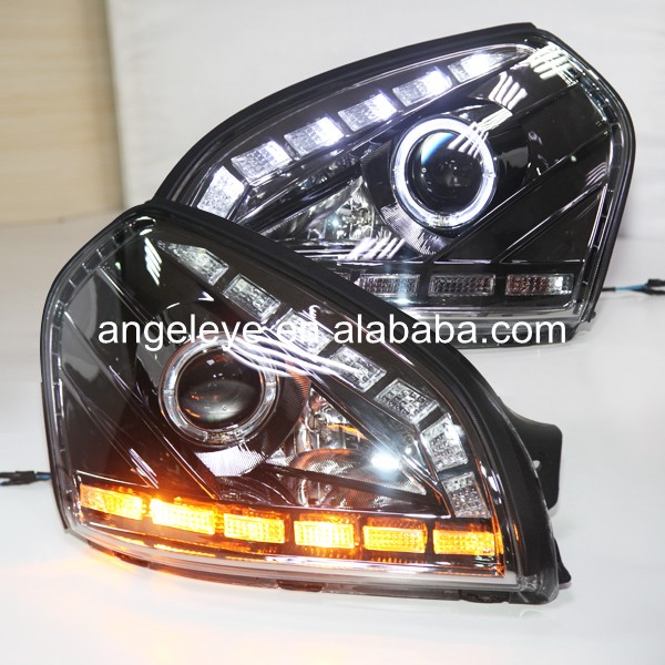 LED head lamp For HYUNDAI Tucson headlights NEW style 2004-2008 year GS