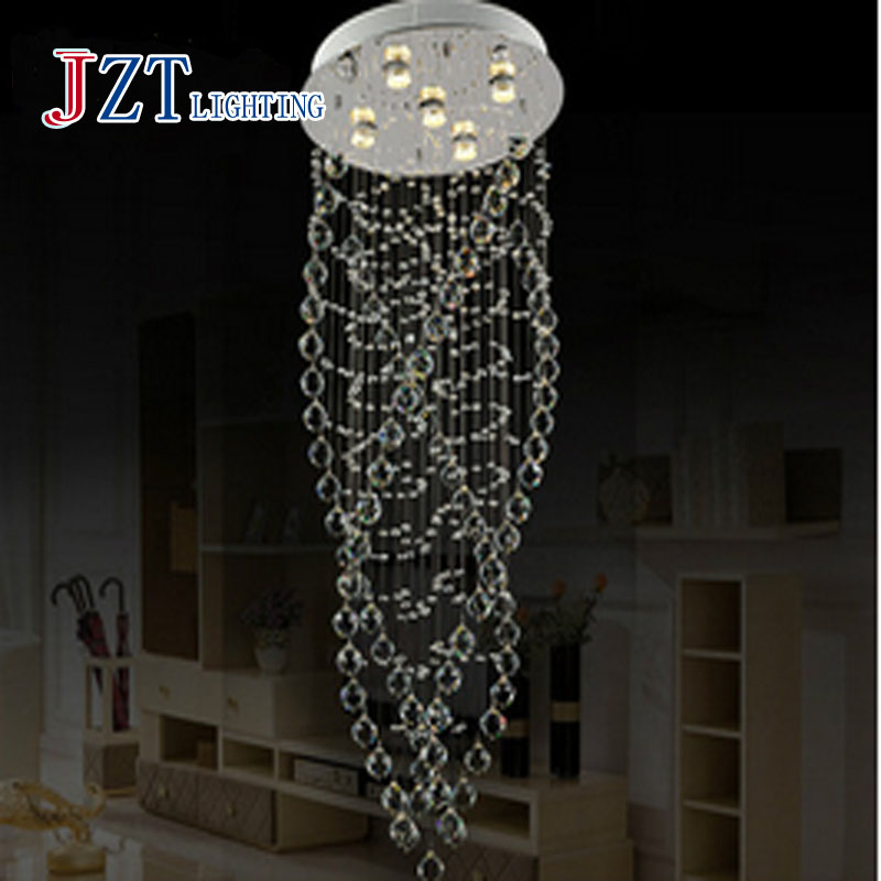 T Best Price Modern Lustre Crystal Chandeliers Dining Room Lamp Droplight Pandent Led