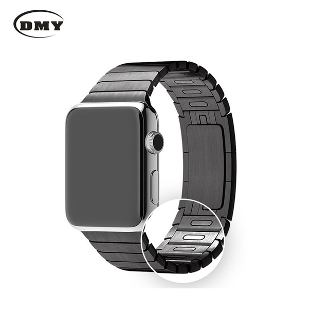 316L stainless steel Adjustable Detachable watch band for iwatch apple watch band strap38 42mm Original buckle apple watch band