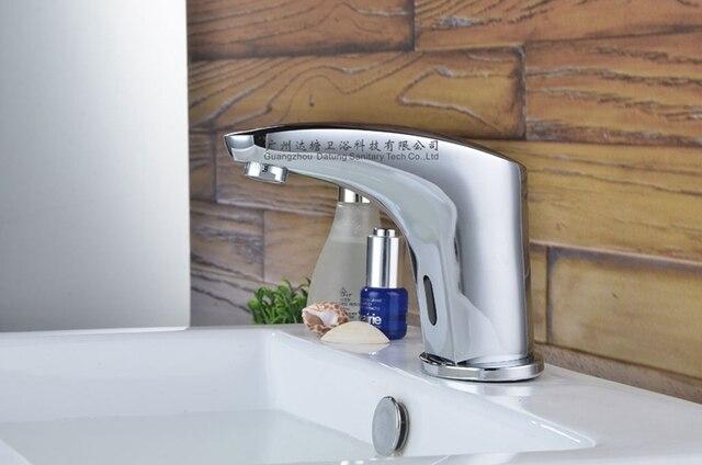 automatic faucet/sensor faucet/hands free taps/public bathroom hands ...