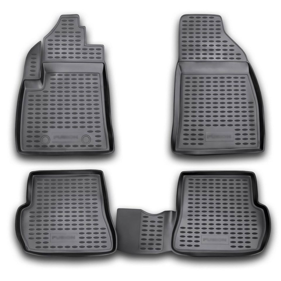 цена на Floor mats for Ford Fiesta 2002 2003 2004 2006 2008 Element NLC1606210 Russia Stock