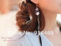 мода в стиле барокко таинственная маска нежный перо кисточкой серьги женщины ювелирные изделия ruyieh40