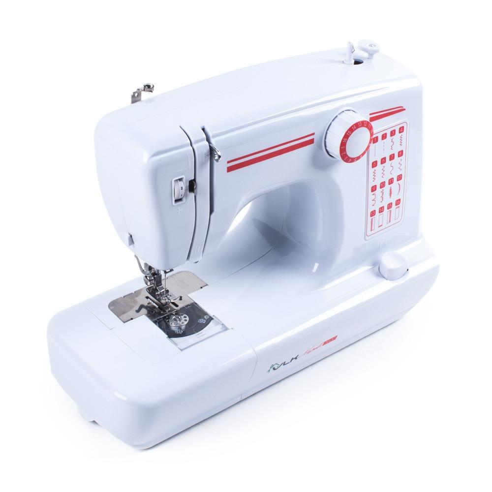 Sewing machine VLK Napoli 2600 sewing thread embroidered tartan newsboy cap