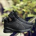 Venta caliente de los hombres zapatos de Marca Unisex respirable del acoplamiento del aire zapatos casuales fenty hombres entrenadores ultra ligero envío zapatos zapatillas hombre