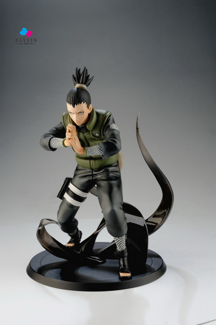 Kissen Anime Naruto Action Figures Nara Shikamaru Japanese Anime Figure Naruto Shippuden Movie Figure PVC Toys Naruto 150mm new arrival pu leather strap 20mm watch band buckle strap buckle clasp high quality watch strap multicolor fast shipping 012