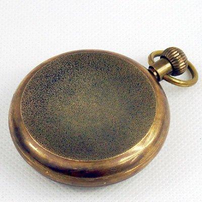 b4f00c1122a 1882 S NY Tourbillon pure copper antique pocket watch em Relógios de ...