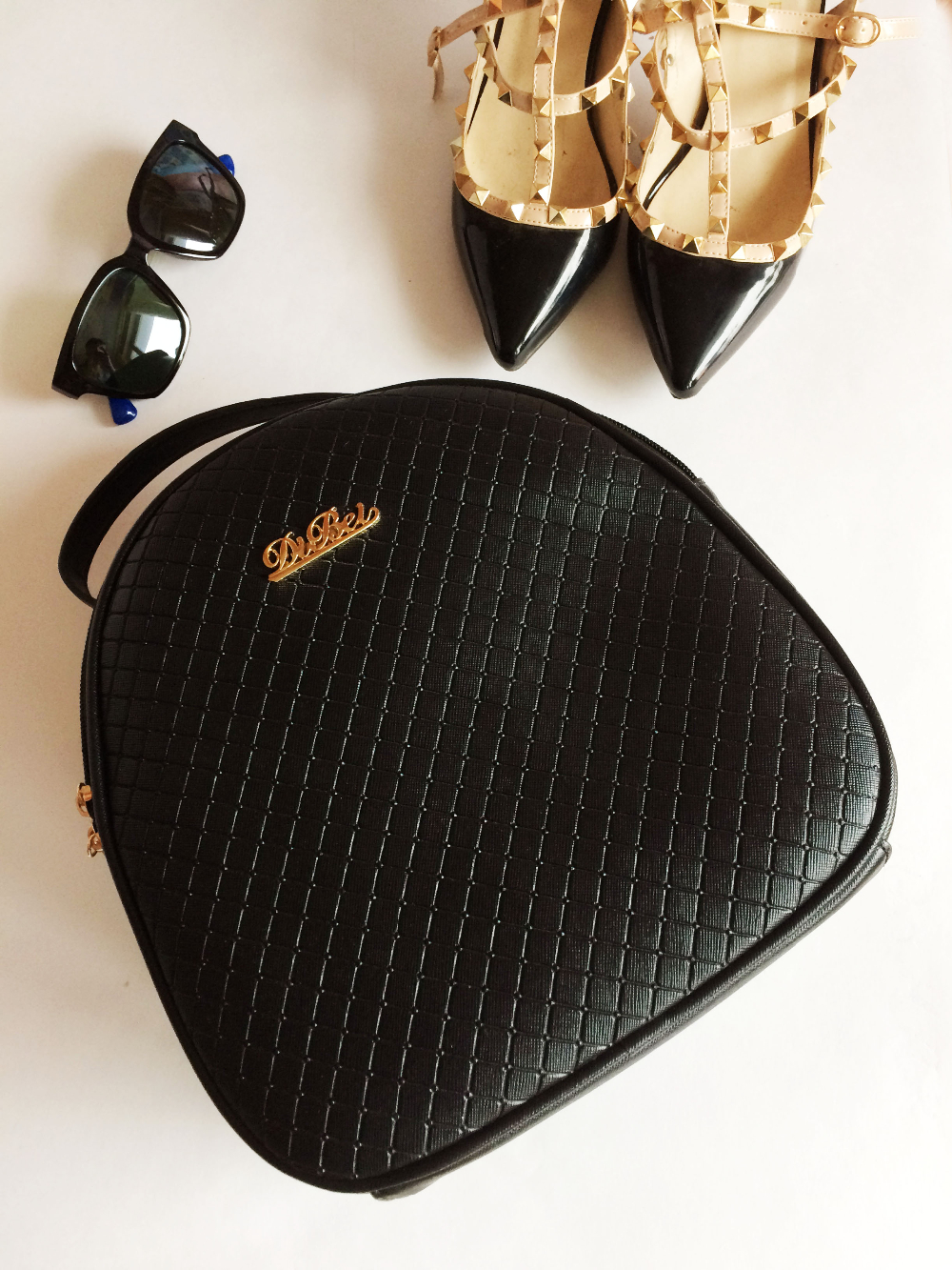 Черная сумка-рюкзак с двумя видами ручек с Алиэкспресс