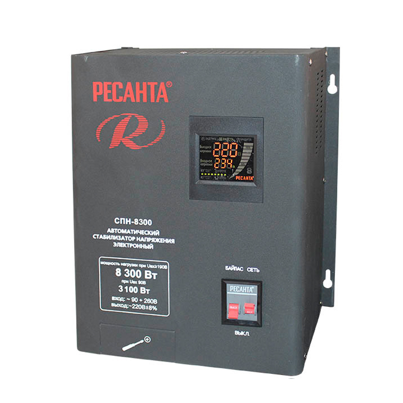 Voltage stabilizer RESANTA SPN-8300