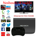 NEXBOX A1 Android TV Box Amlogic S912 Octa Core Android 6.0 KODI 4 K 2 GB + 16 GB Smart TV Box WiFi IPTV DLNA Miracast Nexbox a1 tv