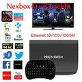 S912 NEXBOX A1 Android TV Box Amlogic Octa Núcleo Android 6.0 KODI 4 K 2 GB + 16 GB Smart TV Box IPTV WiFi DLNA Miracast Nexbox a1 tv
