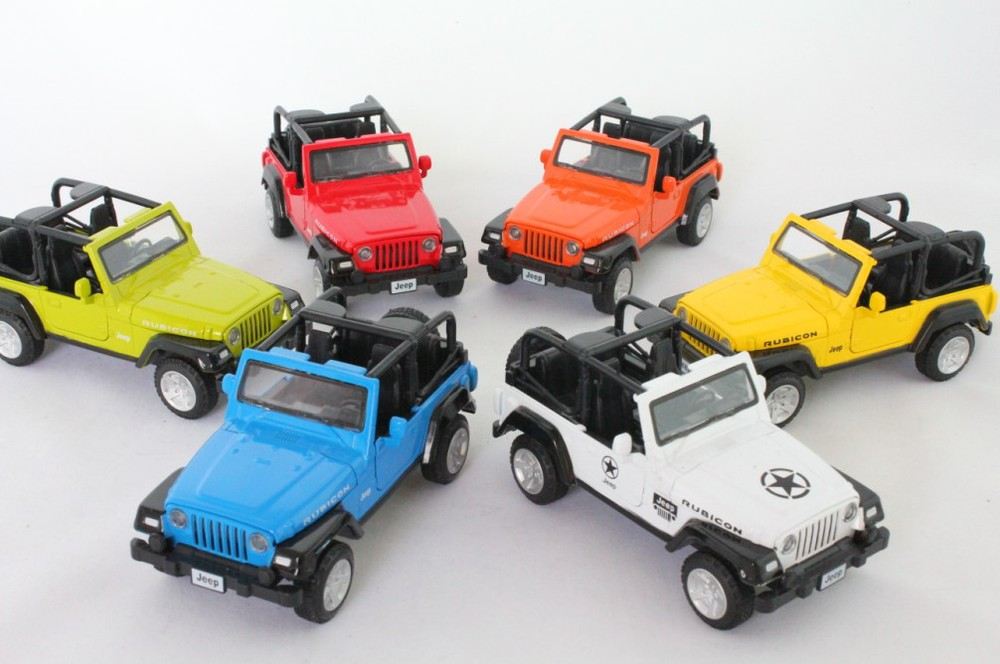 Cars Jeep Wrangler Light Sound Warrior Alloy Carconvertible Car Toys