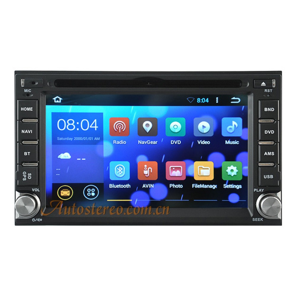 quad core android 5 1 1 universal car dvd player auto. Black Bedroom Furniture Sets. Home Design Ideas
