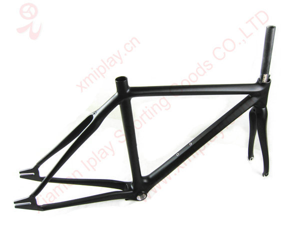 Promotion 700c fixed gear bicycle frame carbon fixie fixed gear bike ...