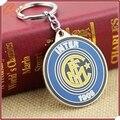 Moda Inter de milão clube de futebol Inter de milão de chave de Metal logotipo de futebol de alta qualidade Jewerly