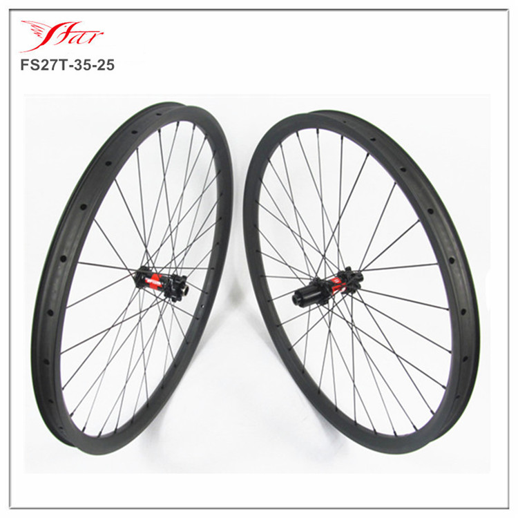 <font><b>DT</b></font> 240s 6-bolts dis <font><b>hub</b></font> with Sapim aero spokes, 28H/28H, Farsports 27.5er carbon mountain bike wheelset 35mm wide clincher