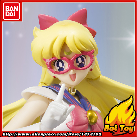 100% Orijinal BANDAI Tamashii Milletler Shfiguarts (SHF) action Figure-Sailor V gelen Pretty Guardian Sailor Moon100% Orijinal BANDAI Tamashii Milletler Shfiguarts (SHF) action Figure-Sailor V gelen Pretty Guardian Sailor Moon
