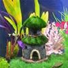 New Resin Aquarium House Artificial Fish Toy Artificial Tower Aquarium Ornament Decor For Fish Tank Garden