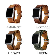 Icarer манжеты / двойной тур обертывания для apple , часы группа экстра — длинные высокое качество подлинная старинные кожи контура 3 типов в 1 компл.