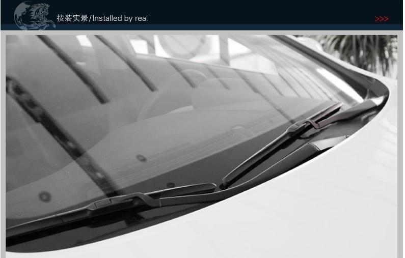 """Автомобильные стеклоочистительные полосы для SSANGYONG Actyon Размеры 2"""" 22"""" мягкий резиновый стеклоочиститель лобового стекла 2 шт./пара отражатель окно"""