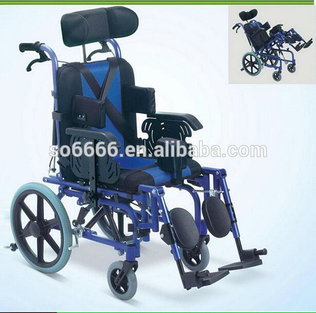 Aluminium Cerebral Palsy Wheelchair/Reclining/Disabled Wheelchair ...