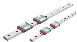 ФОТО 1pc 9mm width linear guide rail 500mm MGN9 +  2pc MGN MGN9C Blocks carriage for CNC