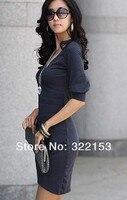горячая распродажа бесплатная доставка новинка нерегулярные тайлер сделал женская вечернее ну вечеринку мини платье с V воротник клуб мини сексуальное платье 4 цветов