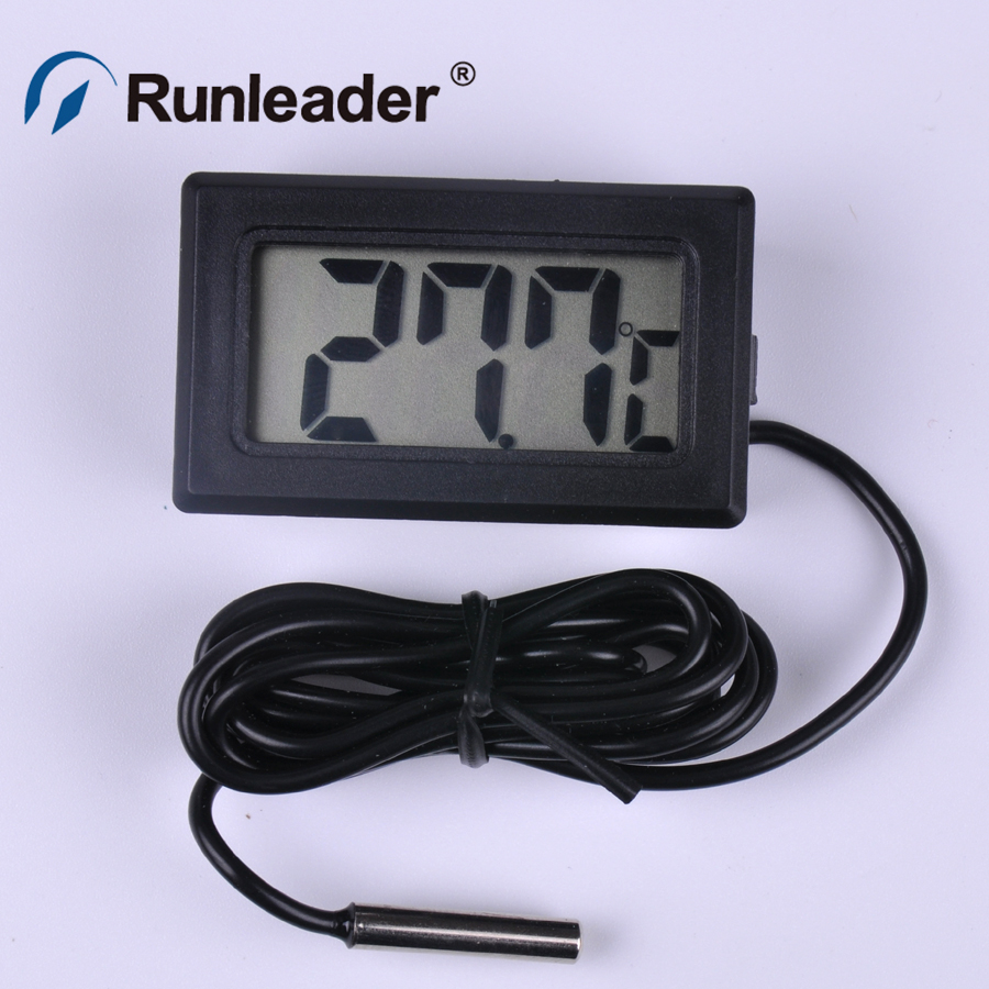 High Precision Digital LCD Fridge Thermometer Thermograph