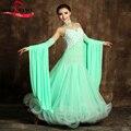 Конкурс бальных Танцев Dress Современный Вальс Танго Стандартный Dress S9001/Бальный Танец Конкуренции Платья