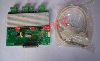 TB6560 control board cnc engraving machine interface board MACH3 accessories triaxial axis axis drive plate