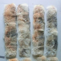 Factory Price New Product Coyote Fur Skin For Collar