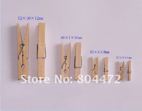 Clips To Hang Pictures 10000 pieces/lot) hanging clips 1 inch woden clothes  peg