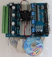 Free Shipping TB6560 Stepper Driver Board 3 Axis Integrated Breakout Board DC12 36V Input Full 2