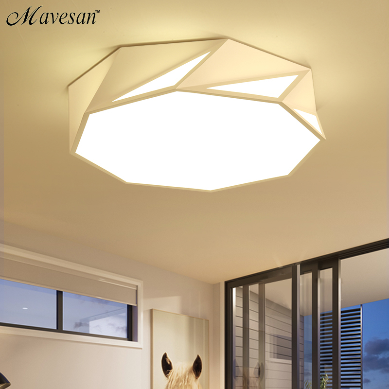 2017 new hexagon specific ceiling lights for Living room Bedroom Indoor home Light plafon Ceiling Lamp  luminaire lampe deco new modern led ceiling lights for living room bedroom plafon home lighting combination white and black home deco ceiling lamp